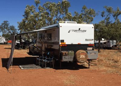Loaded - Fortitude Caravans - Neal's Van